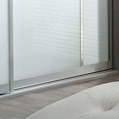 Spacepro Contour Sliding Door Frames by Bedrooms Plus