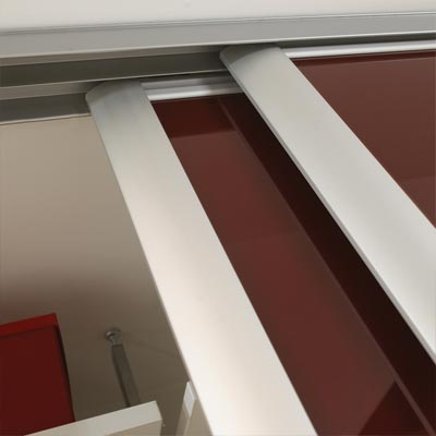 Spacepro Ellipse Sliding Door Frames by Bedrooms Plus