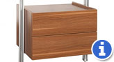 Spacepro Relax Drawer Unit from Bedrooms Plus