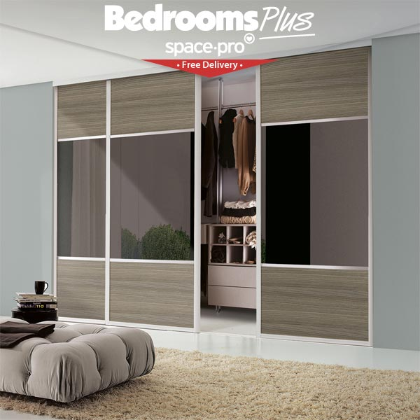 Cost Of Fitted Wardrobes: Spacepro Loft Or Attic Sliding Doors