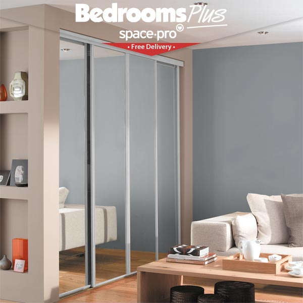 Spacepro Sliding Wardrobe Doors - Free Delivery on Custom ...